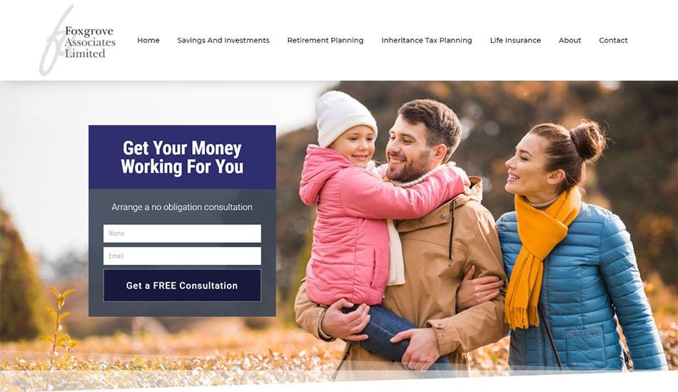 financial website designers 2