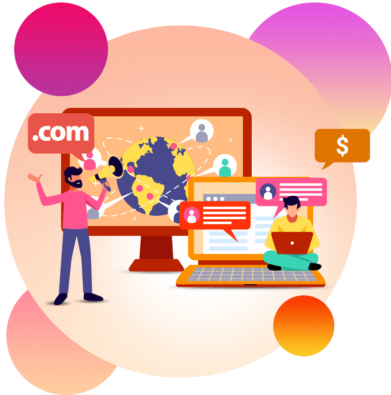 hosting and domain 1