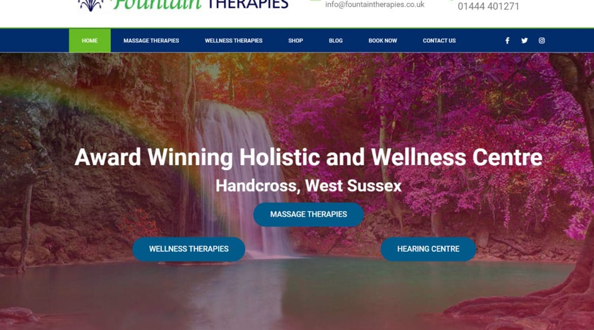 websites for spa and health
